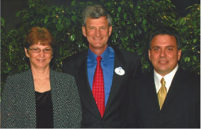 (L to R) Susan Tedesco, Al Weiss and Thomas Tedesco